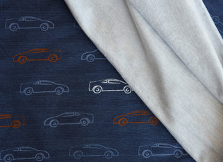 Chalky Cars Denim