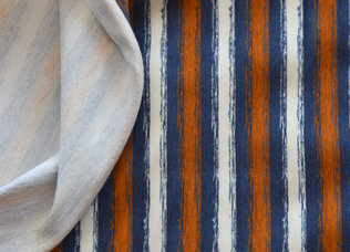Chalky stripes Denim